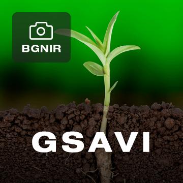 Green Soil Adjusted Vegetation Index